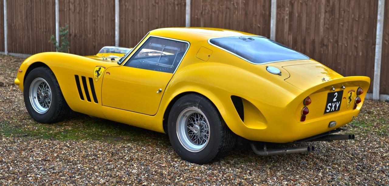 Ferrari 250 GTO Hot Rod... Une Gee Tee Ho de 601 ch ! 18