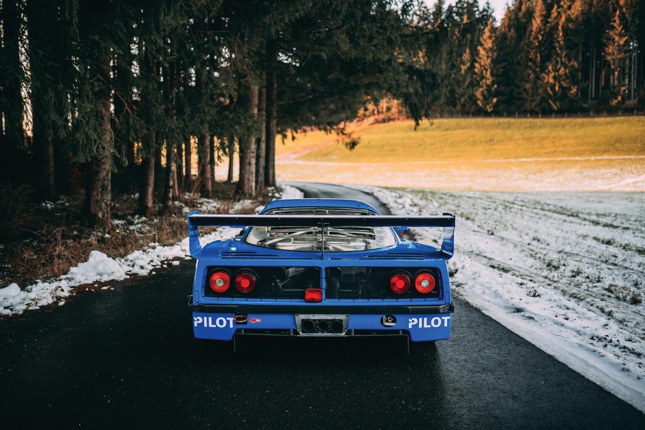 Ferrari F40 LM et Competizione : la plus rouge ! 41