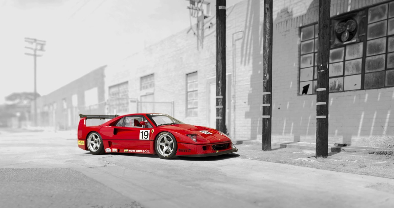 Ferrari F40 LM et Competizione : la plus rouge ! 36