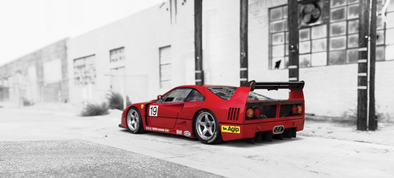 Ferrari F40 LM et Competizione : la plus rouge ! 34