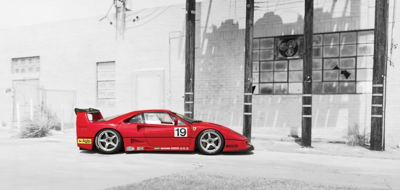Ferrari F40 LM et Competizione : la plus rouge ! 32