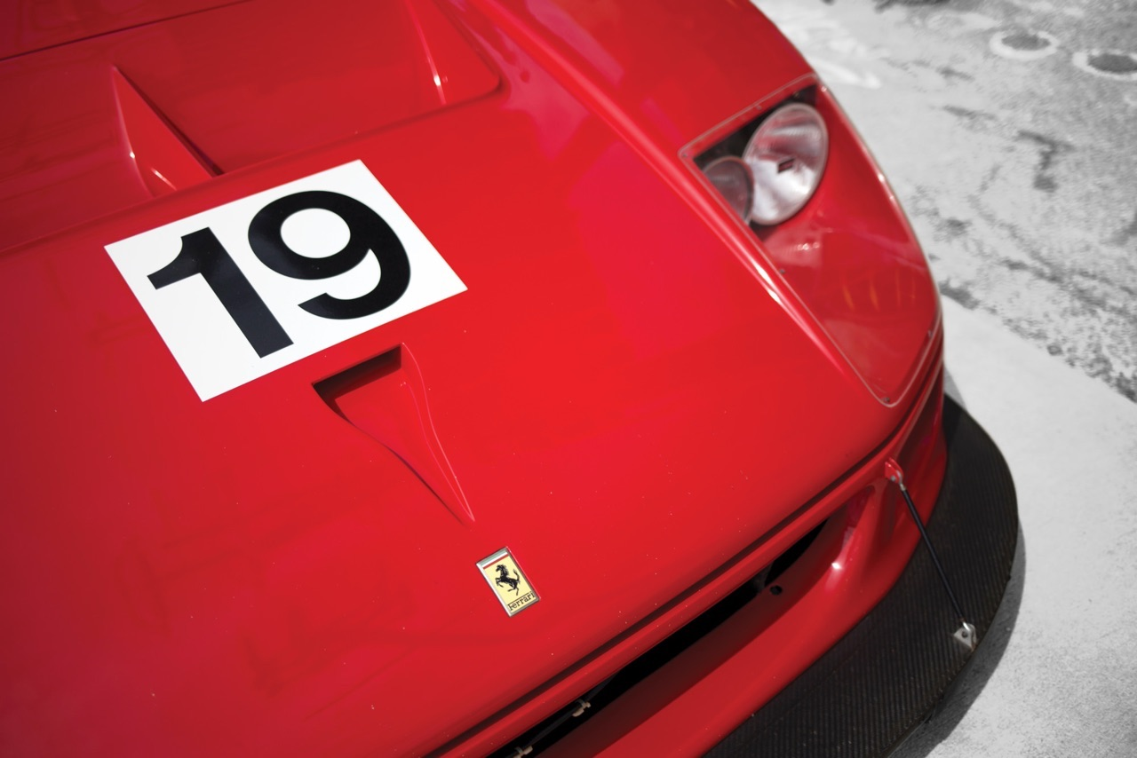 Ferrari F40 LM et Competizione : la plus rouge ! 33