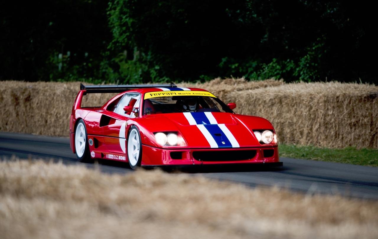 Ferrari F40 LM et Competizione : la plus rouge ! 29