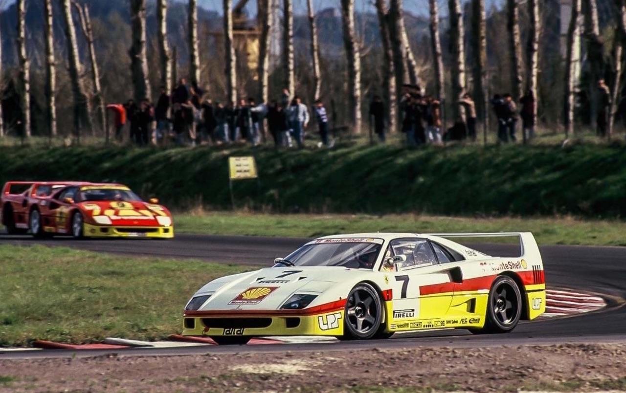 Ferrari F40 LM et Competizione : la plus rouge ! 35