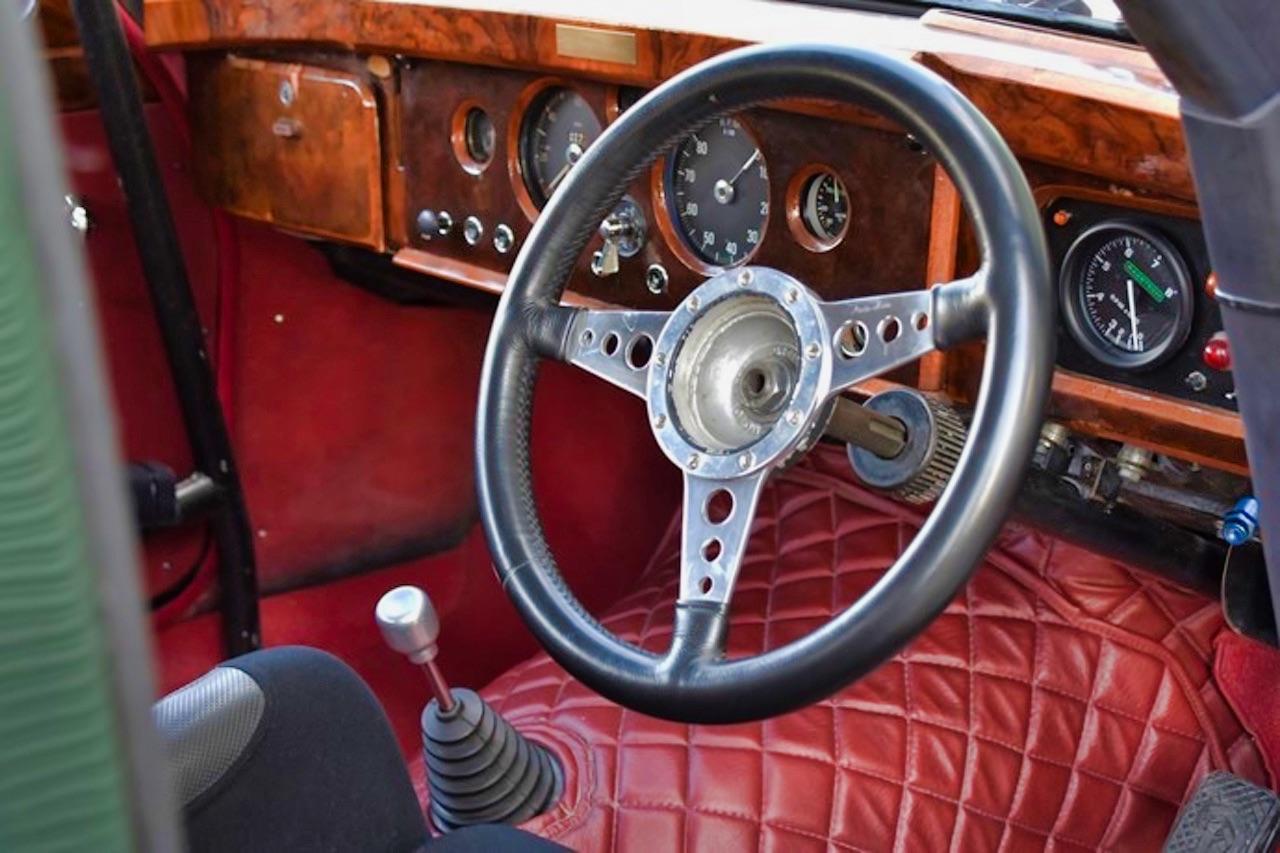 Jaguar 3.4 Saloon... Une Mk1 dans la course ! 14