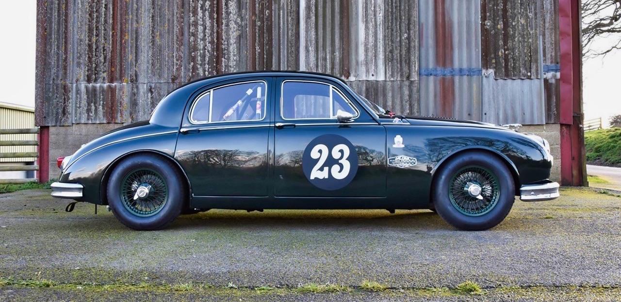 Jaguar 3.4 Saloon... Une Mk1 dans la course ! 3