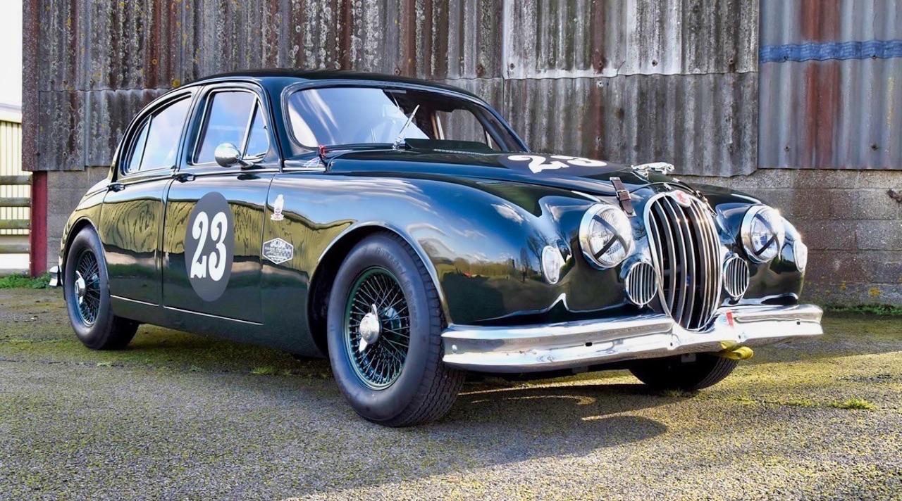 Jaguar 3.4 Saloon... Une Mk1 dans la course ! 8