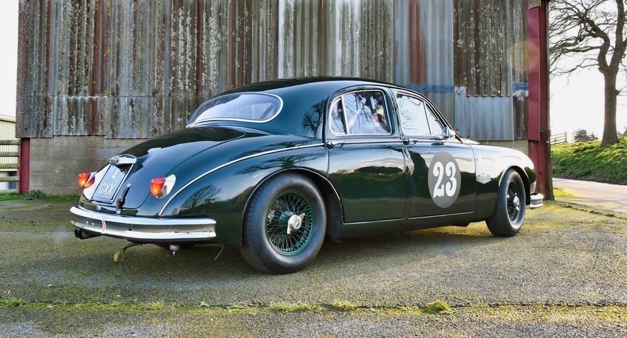 Jaguar 3.4 Saloon... Une Mk1 dans la course ! 7