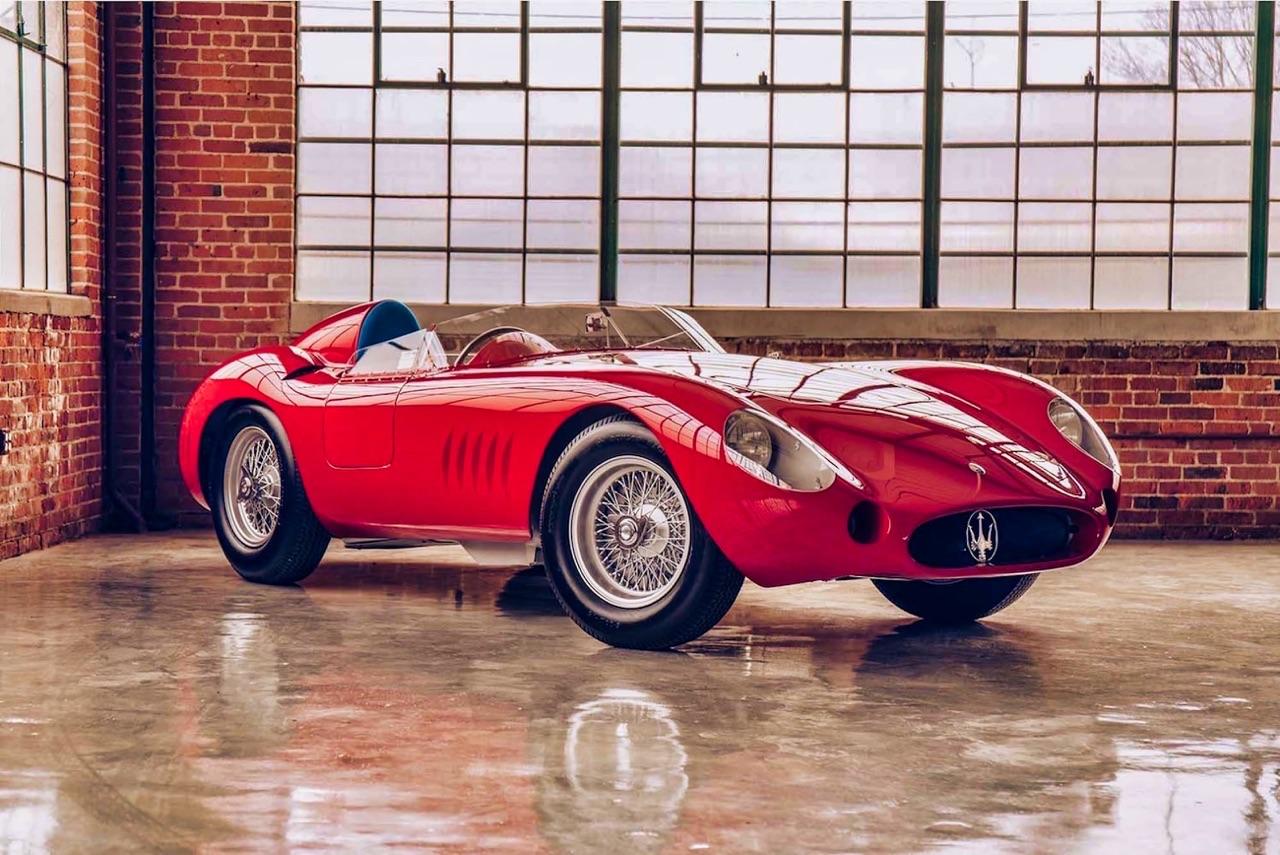 Maserati 300S : Bella macchina ! 5