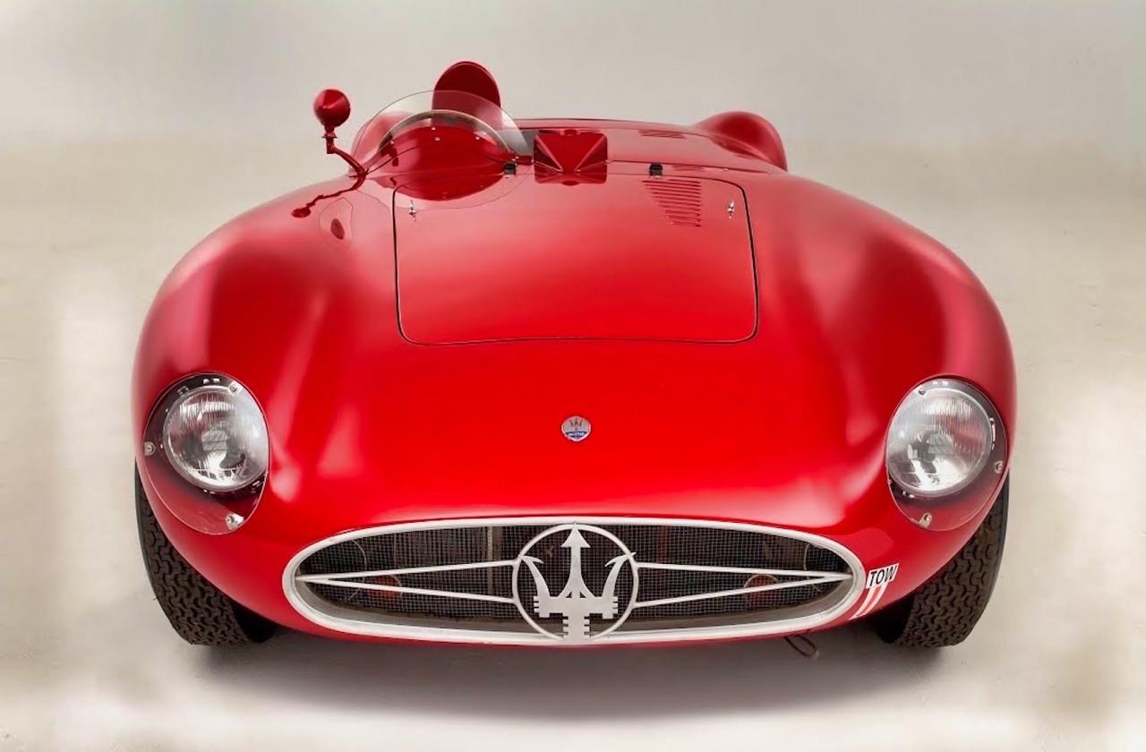 Maserati 300S : Bella macchina ! 1