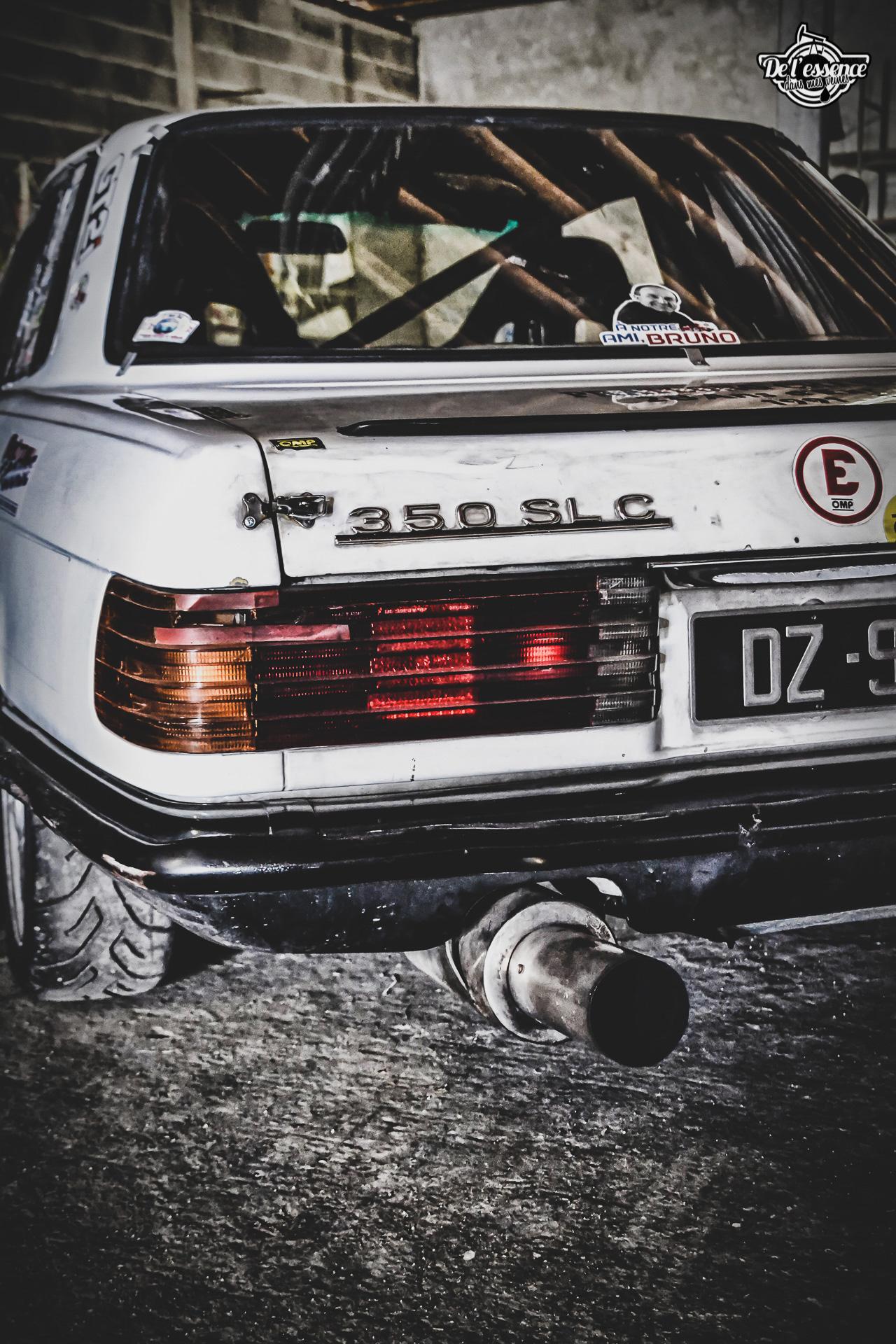 '73 Mercedes 350 SLC - Un tour à la montagne... 8