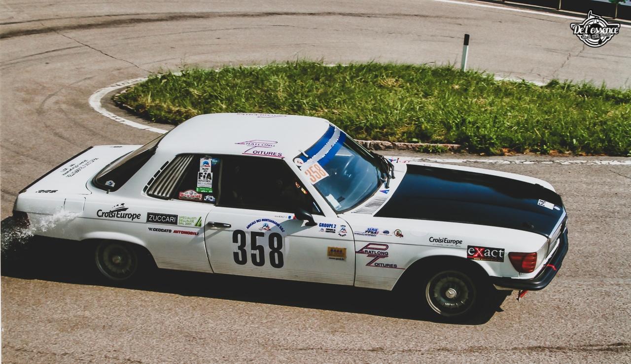 '73 Mercedes 350 SLC - Un tour à la montagne... 10