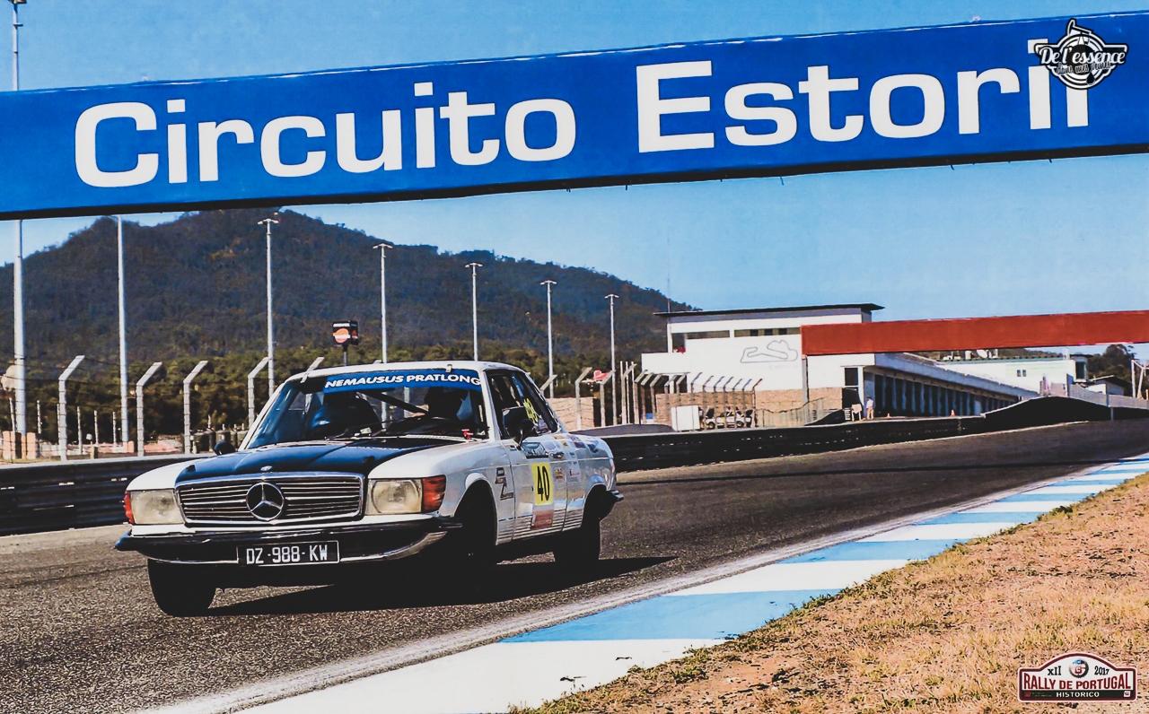 '73 Mercedes 350 SLC - Un tour à la montagne... 9