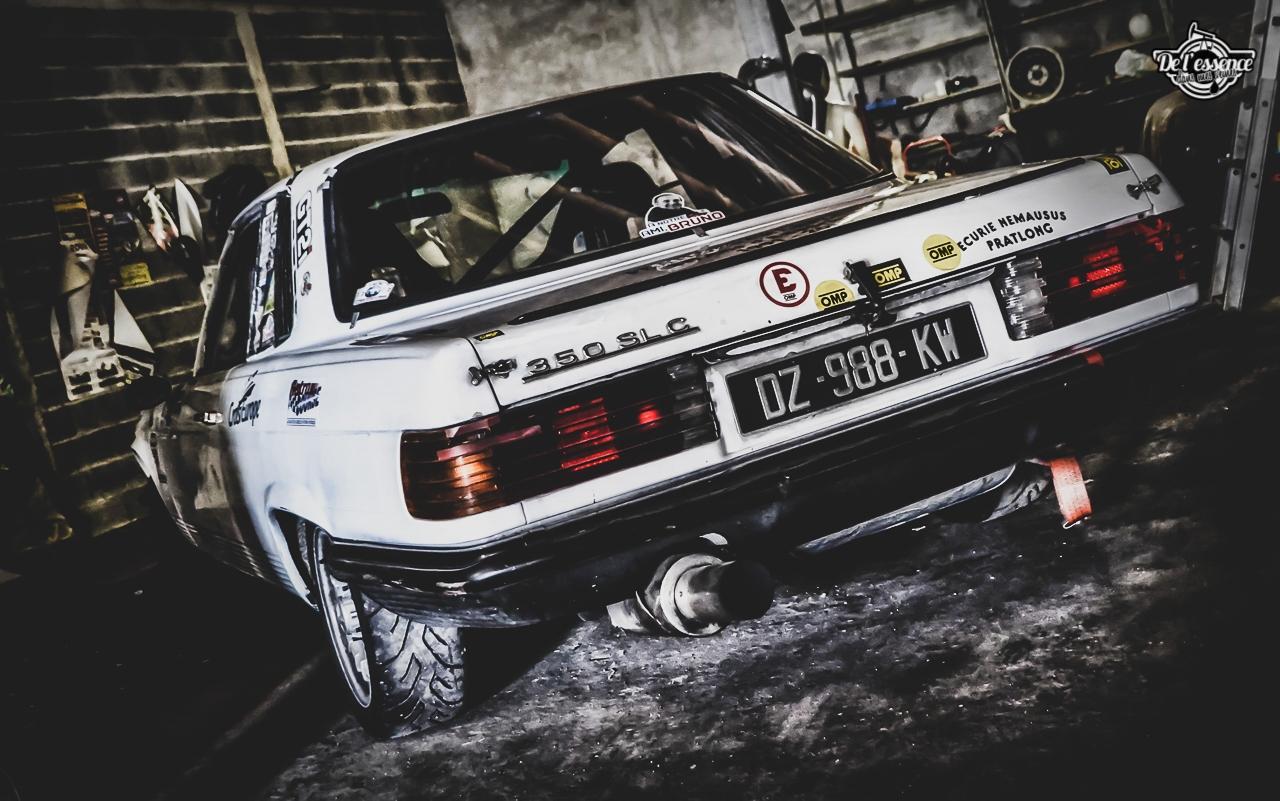 '73 Mercedes 350 SLC - Un tour à la montagne... 3