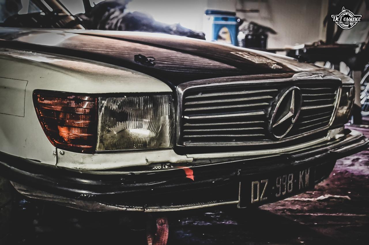 '73 Mercedes 350 SLC - Un tour à la montagne... 6