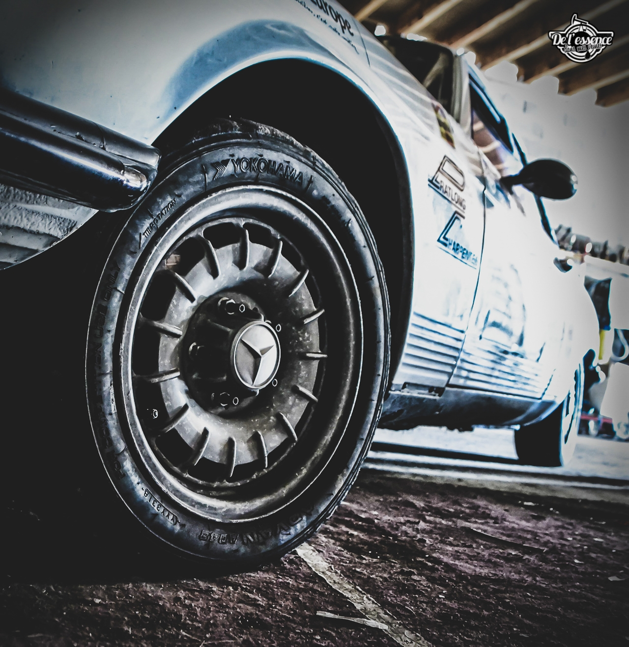 '73 Mercedes 350 SLC - Un tour à la montagne... 5