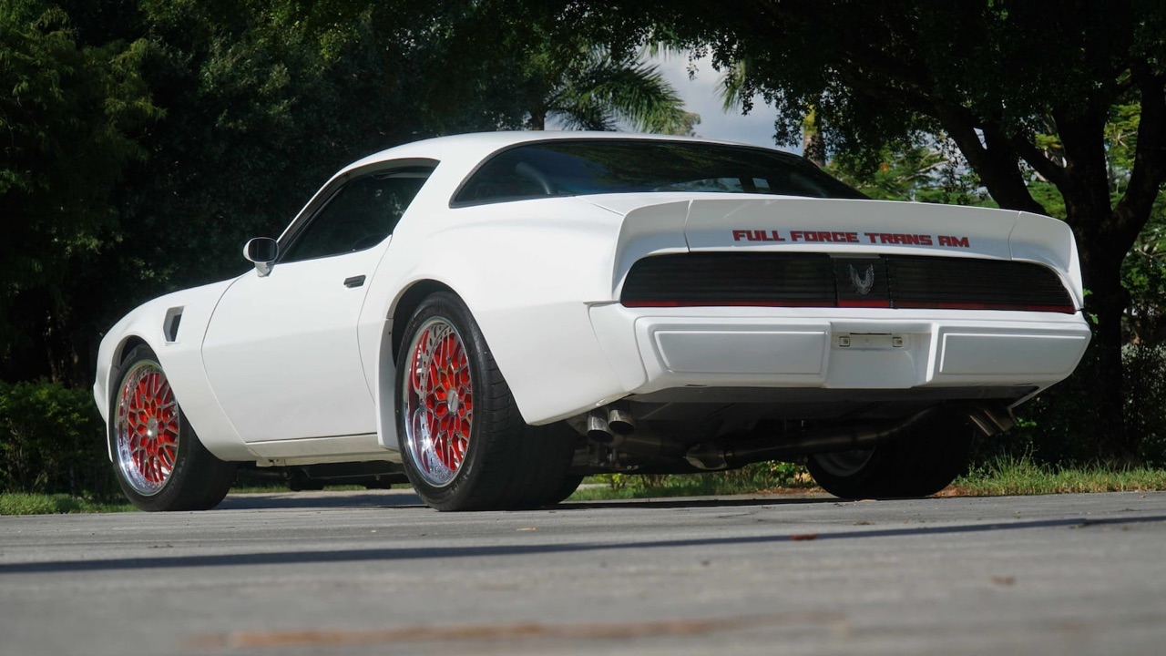 Pontiac Firebird en LS9 Biturbo - The Full Force Trans Am ! 15