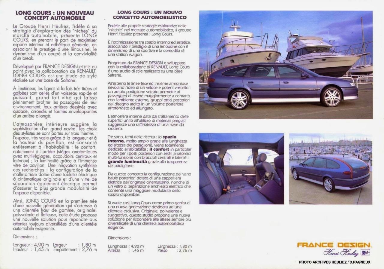 Renault Safrane Long Cours : Heuliez part à la chasse en biturbo ! 10