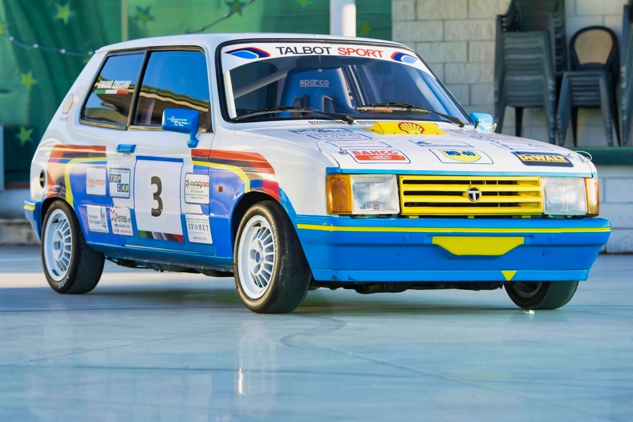 Talbot Samba Rallye - Pas qu'un nom... 1