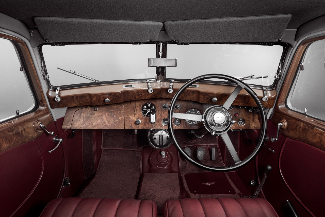 '39 Bentley Corniche Mulliner : Haute couture 1
