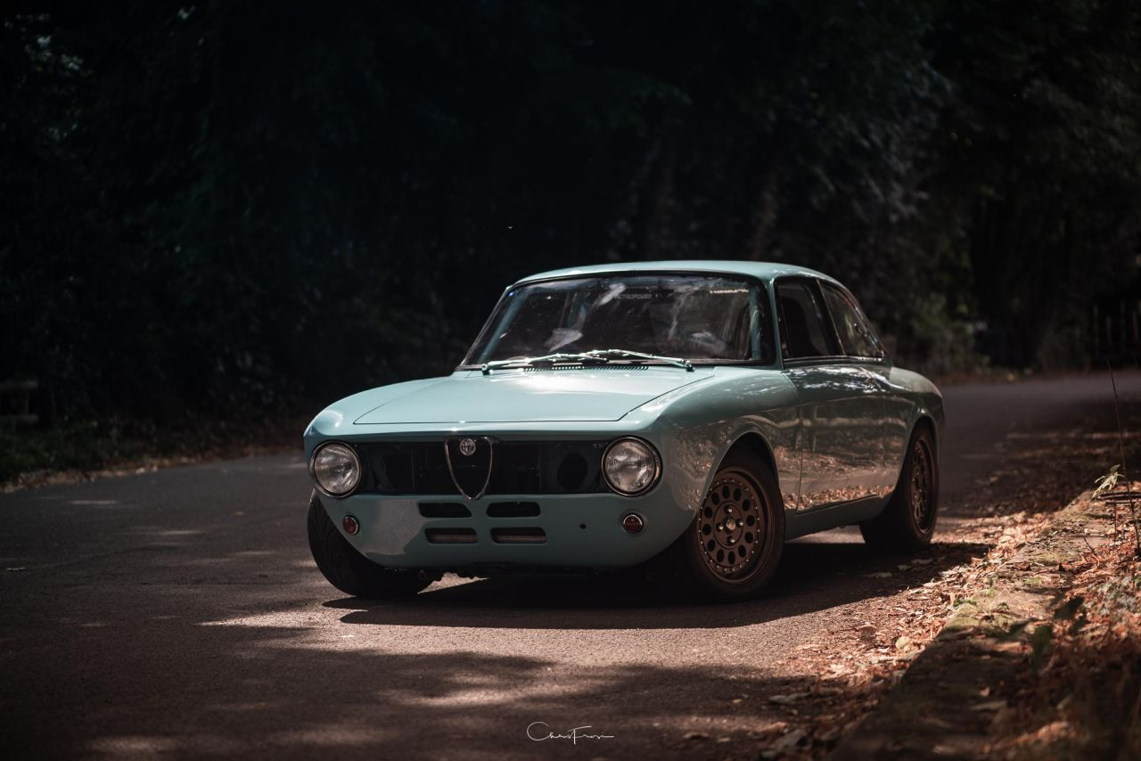 Alfa Romeo Giulia GT Junior Swap 2.7L - Singer à l'italienne ! 21