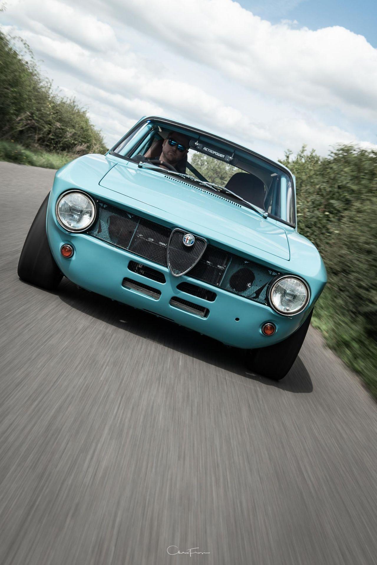 Alfa Romeo Giulia GT Junior Swap 2.7L - Singer à l'italienne ! 29