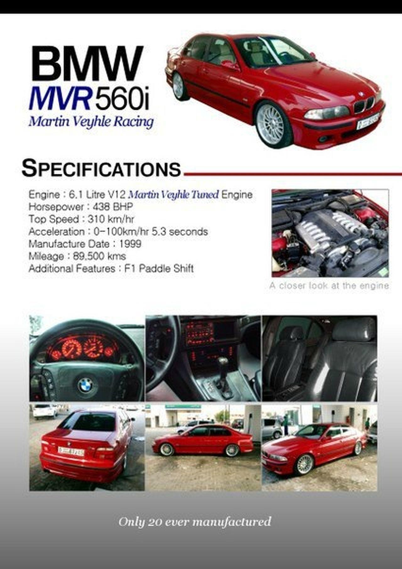 BMW MVR 560i E39 - M5 Super Saiyan ! 26