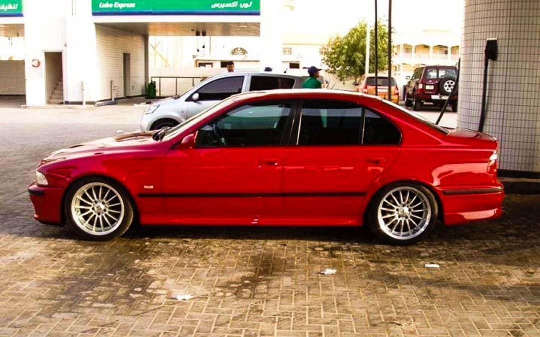 BMW MVR 560i E39 – M5 Super Saiyan !