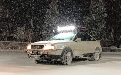 Audi Coupé Off Road – «J'aime me battre !»