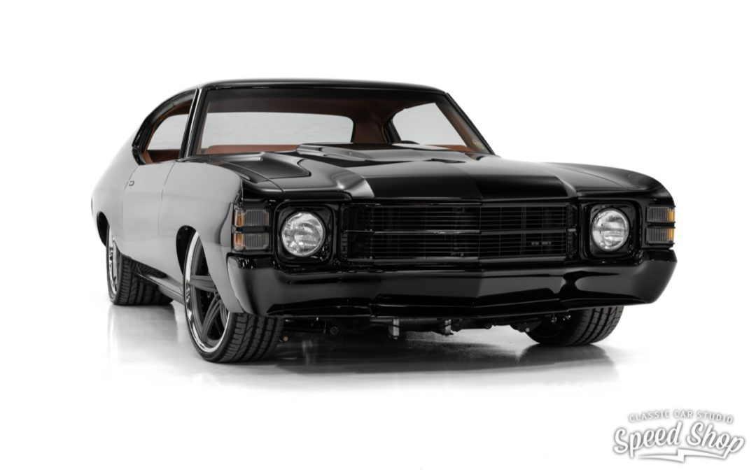 Chevy Chevelle SS '71 – LS9 & Choc frontal…