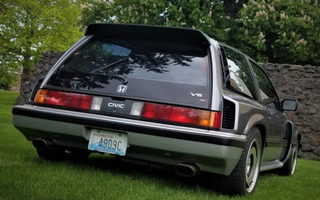 Honda Civic V6 – C'est comme ça qu'on tond sa pelouse ?