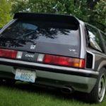 Honda Civic V6 - C'est comme ça qu'on tond sa pelouse ?