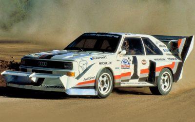 Audi Quattro et Pikes Peak, des anneaux dans les nuages…