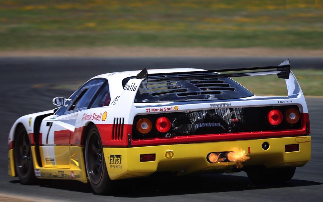 Ferrari F40 LM et Competizione : la plus rouge !
