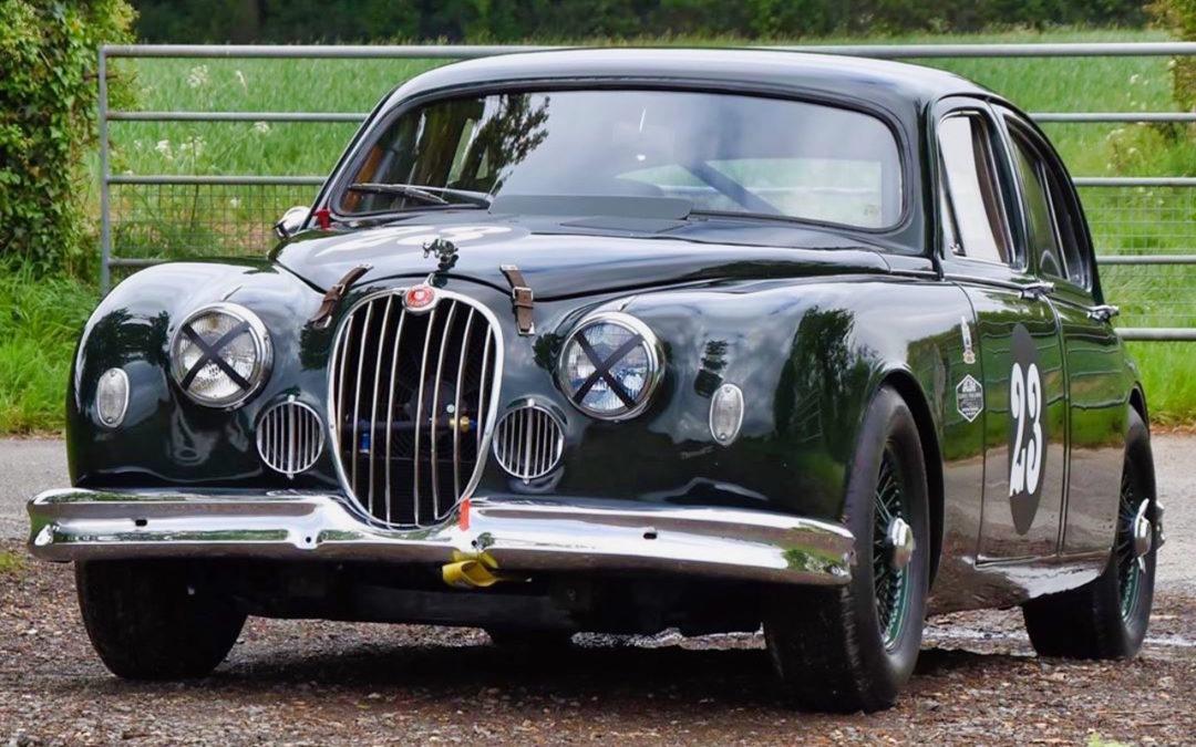 Jaguar 3.4 Saloon… Une Mk1 dans la course !