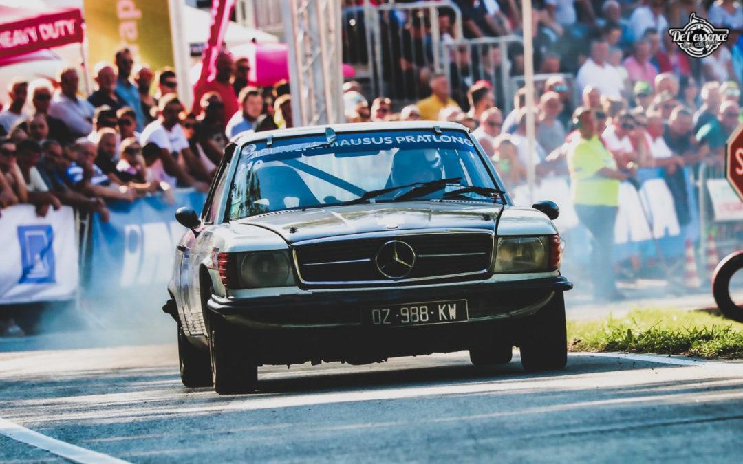 '73 Mercedes 350 SLC – Un tour à la montagne…