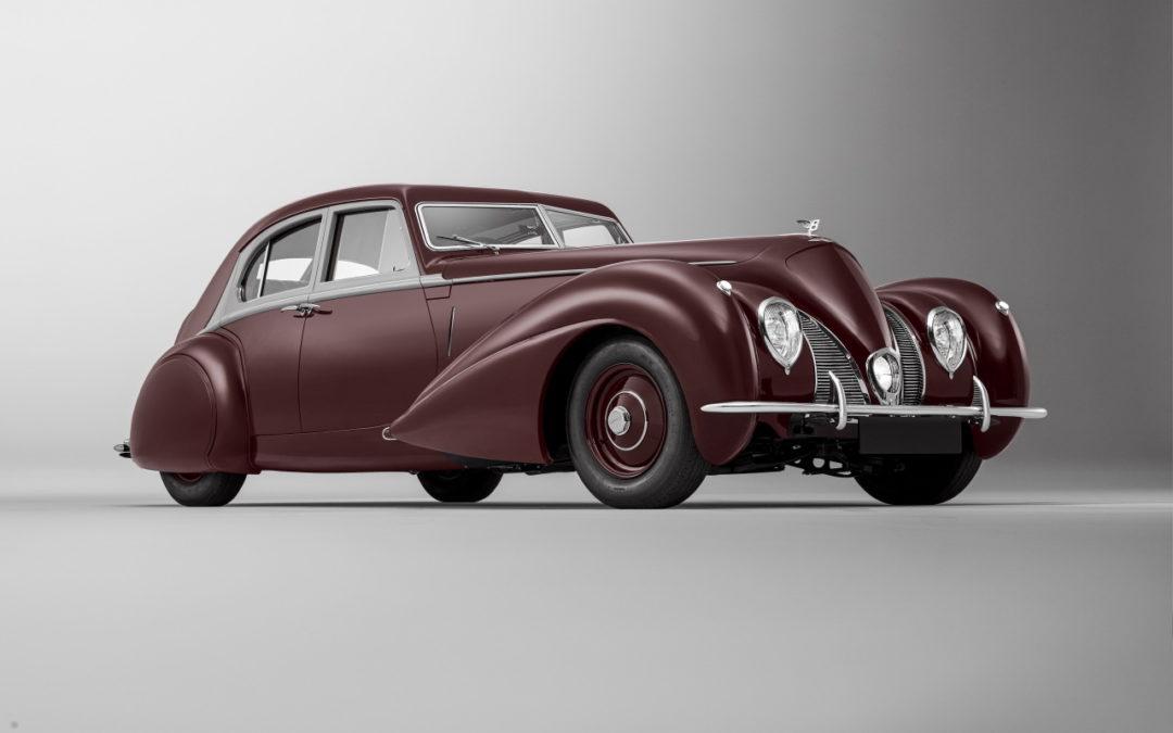 '39 Bentley Corniche Mulliner : Haute couture