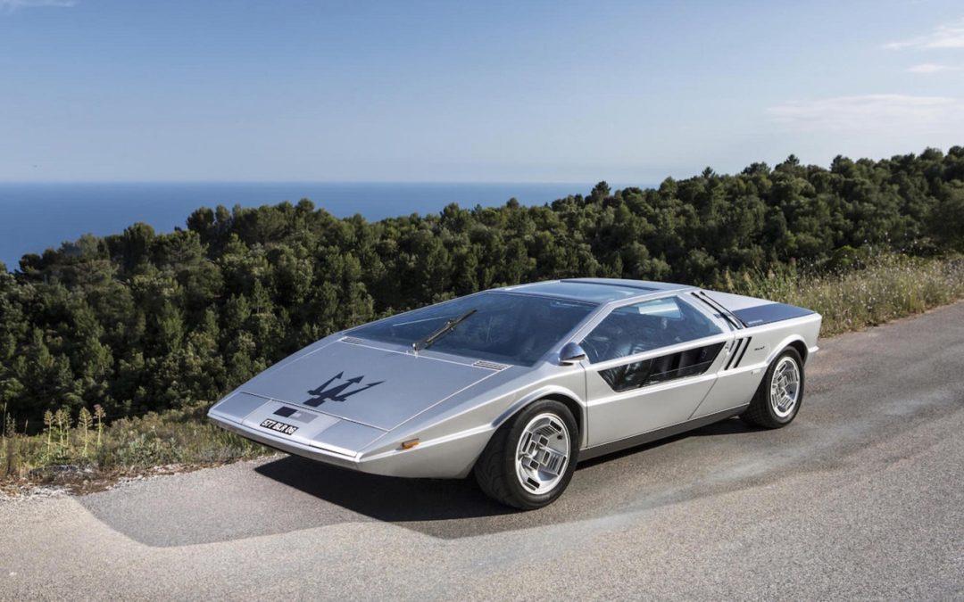 Maserati Boomerang – A la serpe !