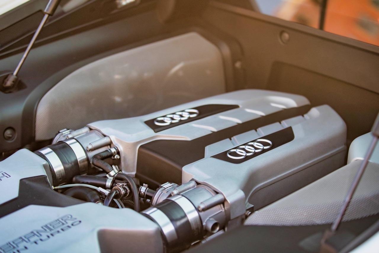 Audi R8 V8 4.2 l - Shootée au biturbo 10