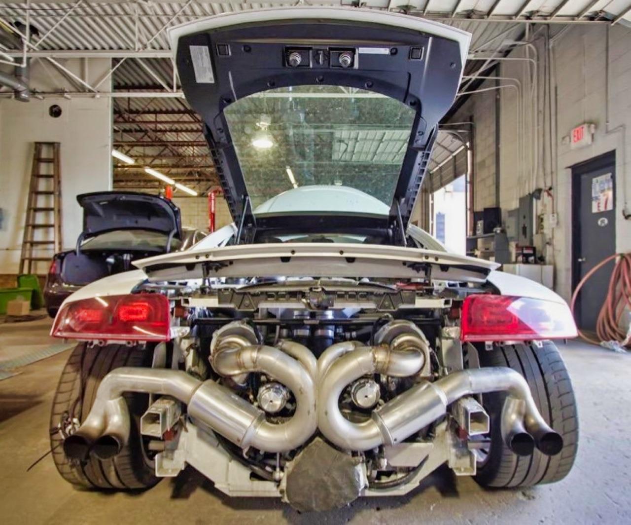 Audi R8 V8 4.2 l - Shootée au biturbo 9