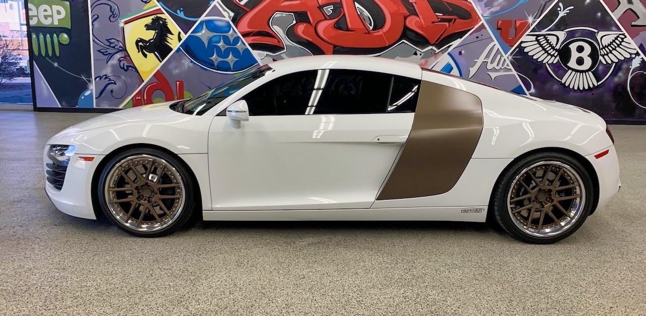Audi R8 V8 4.2 l - Shootée au biturbo 4