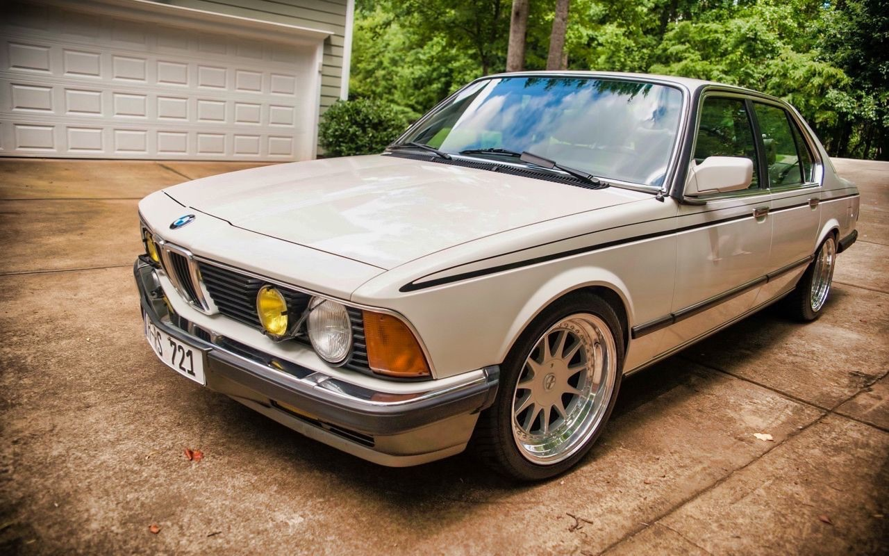 BMW 745i - Première classe Vintage ! 1