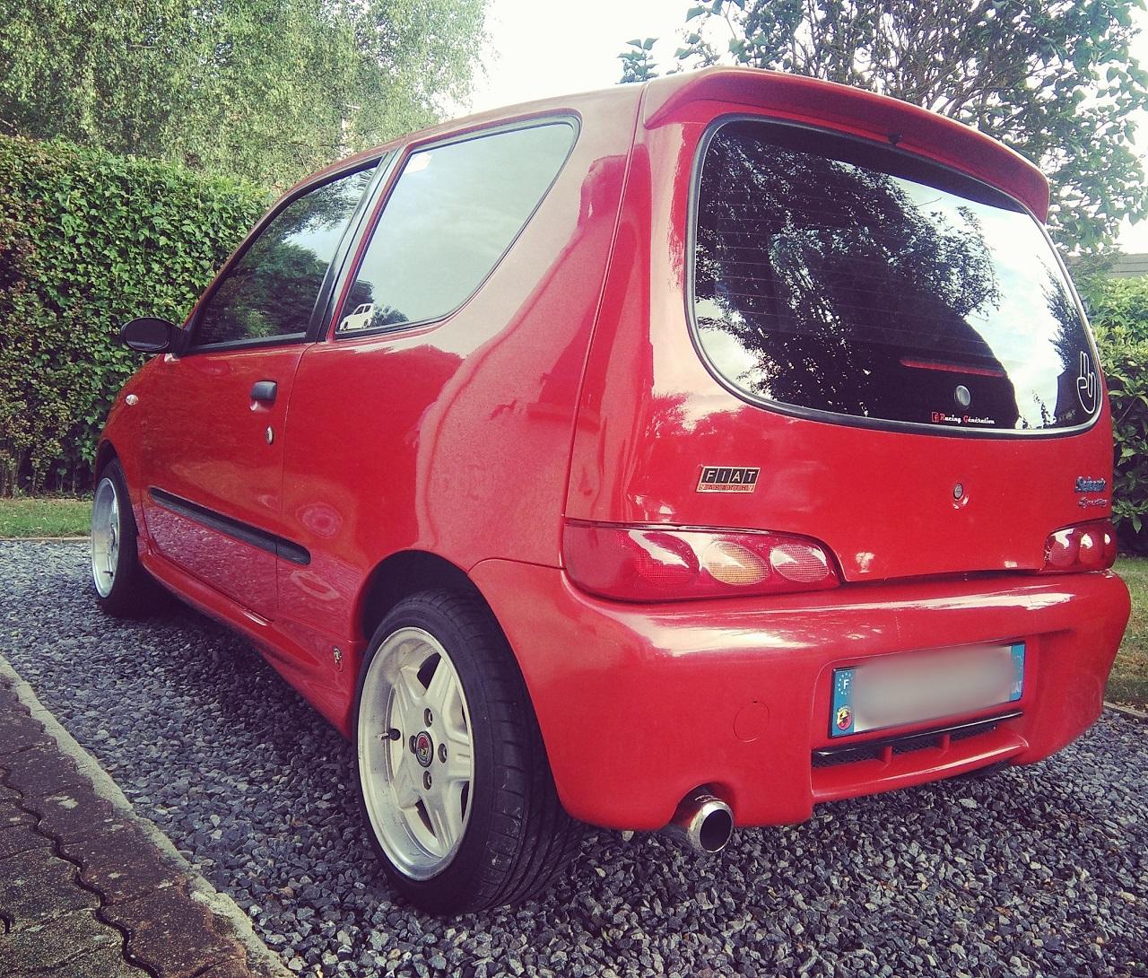 Fiat Seicento Sporting Abarth - Piccola Bomba ! 6