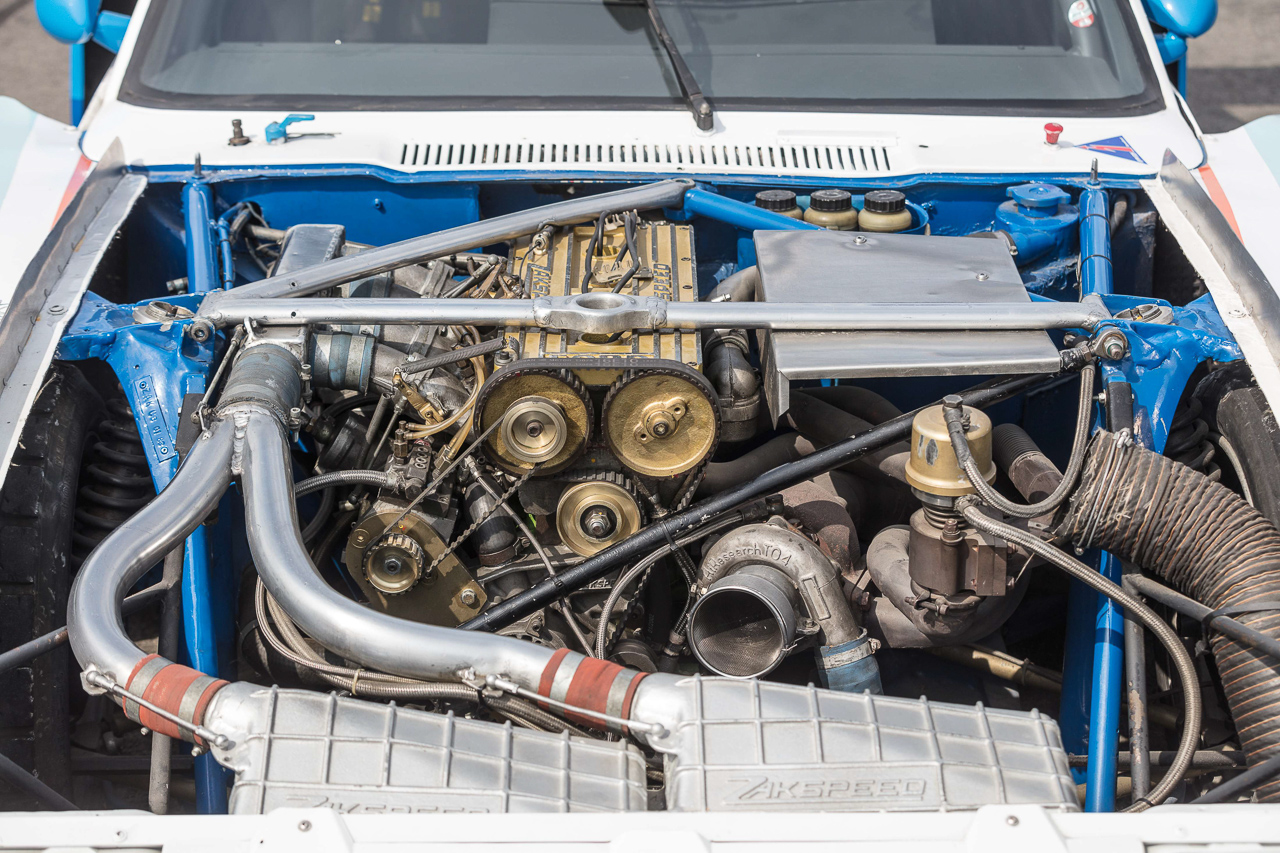 Ford Capri Zakspeed Turbo Gr.5 : Downsizing, bousculade, et flux d'air ! 11