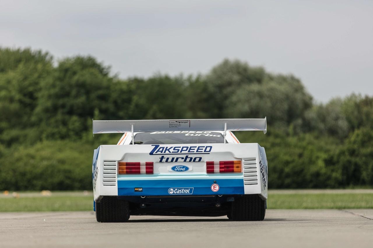 Ford Capri Zakspeed Turbo Gr.5 : Downsizing, bousculade, et flux d'air ! 4