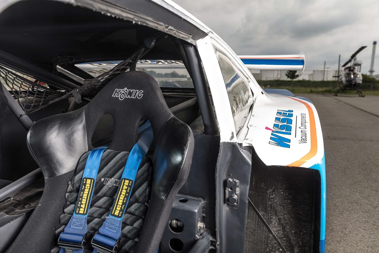 Ford Capri Zakspeed Turbo Gr.5 : Downsizing, bousculade, et flux d'air ! 13