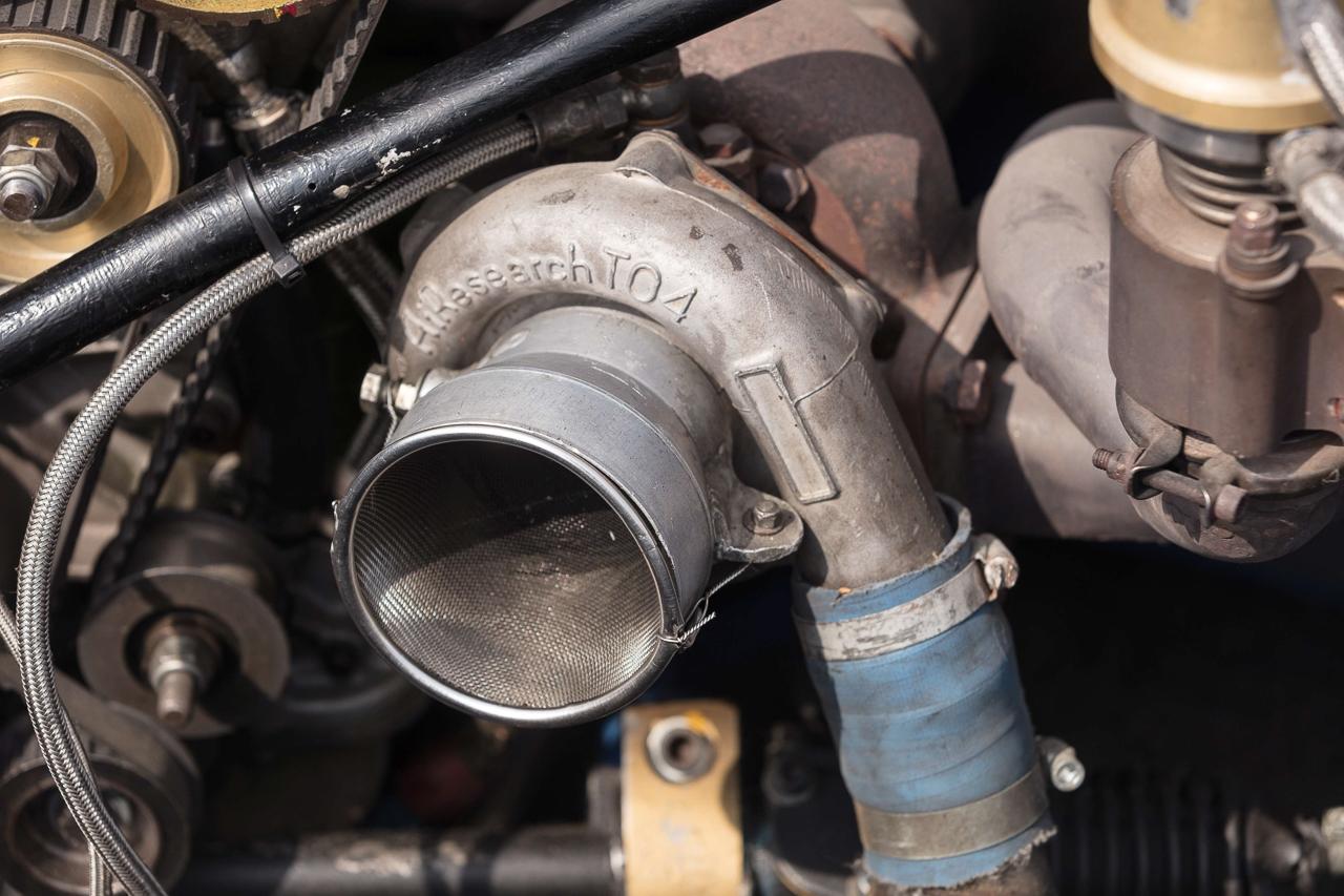 Ford Capri Zakspeed Turbo Gr.5 : Downsizing, bousculade, et flux d'air ! 12