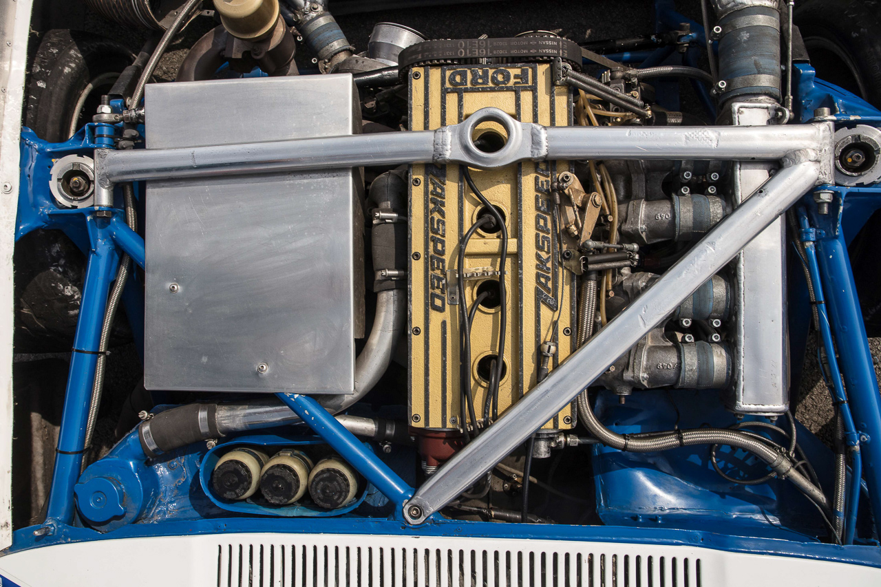 Ford Capri Zakspeed Turbo Gr.5 : Downsizing, bousculade, et flux d'air ! 9