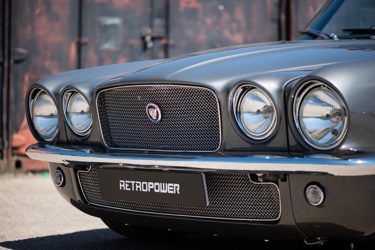 Jaguar XJC 430 Retropower... Ca sent le V8 et le restomod ! 5