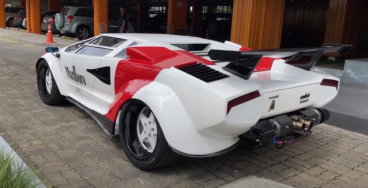 Lamborghini Countach replica... ou une Hyundai avec un V8 Lexus ! 2